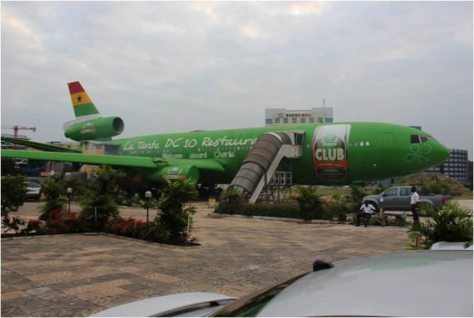 Ghana Airplane