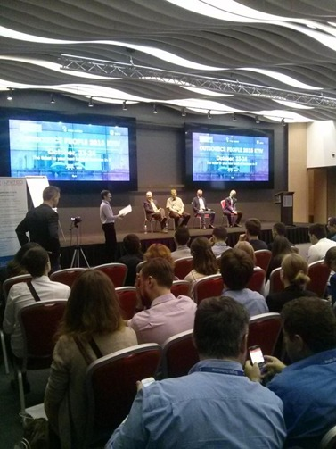 Interesting panel discussion about the future of Ukraine IT outsourcing