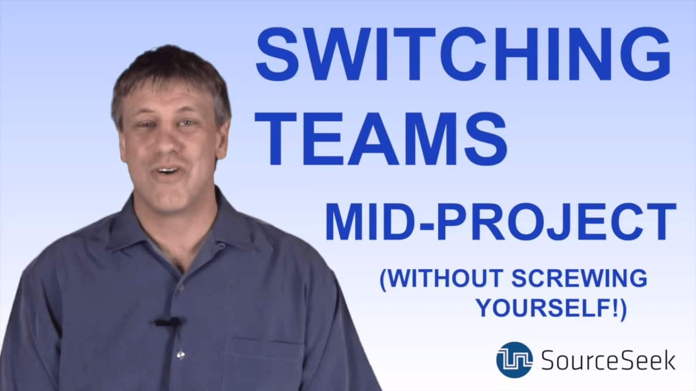 switching software teams